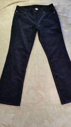 J. CREW Vintage stretch 10 Short Black Corduroy Favorite Fit Womens Pants  #JCrew #Corduroys
