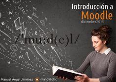 """Presentación del curso """"Introducción a Moodle"""". Organizado por el CEP """"Luisa Revuelta"""", Córdoba - Diciembre de 2015"""