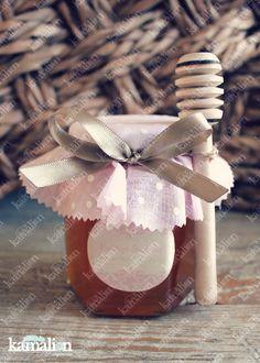 www.kamalion.com.mx - Recuerdos / Giveaways / Detalles Personalizados / Vintage / Bautizo / It's a girl / Rosa / Pink / Miel de abeja / Honey jar / Frascos.