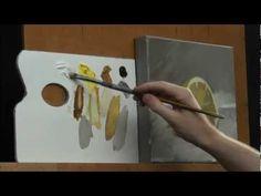 artist demo, acrylic paintings, acryl paint, art video, art lesson, artist bob, free video, painting tutorials, lemon
