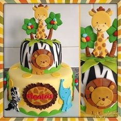 decoracion baby shower animales - Buscar con Google