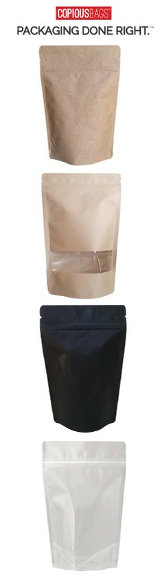 Package, Protect & Promote your product. Shop the latest collections of stand up pouches. We help you package your vision.