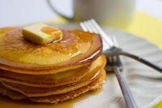 Cornbread pancakes - two favorite breakfast treats in one!