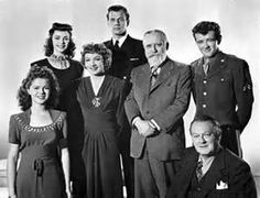 Since You Went Away, (cast) Claudette Colbert, Shirley Temple, Jennifer Jones, Joseph Cotton, Monty Woolly, Robert Walker and  Lionel Barrymore