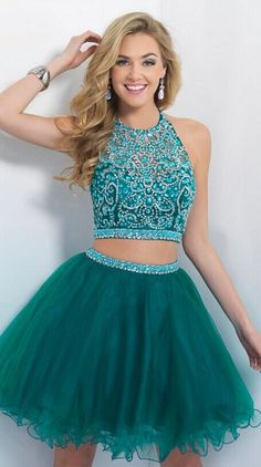 Lovely Short Tulle Cocktail Dresses, Homecoming Dresses, Party Dresses
