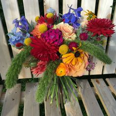 summer wedding flowers in Stowe, VT