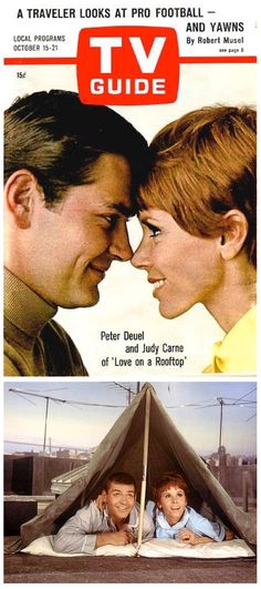 Love on a Rooftop (1966-67, ABC) starring Peter Duel & Judy Carne