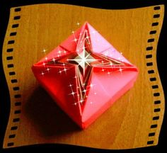 Origami Christmas box