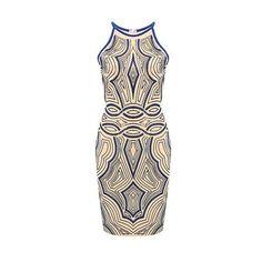 Yoins Contrast Printed Sleeveless Mini Dress (45 BAM) via Polyvore featuring dresses, yoins, floral print sleeveless dress, floral print mini dress, flower pattern dress, mini dress and short dresses