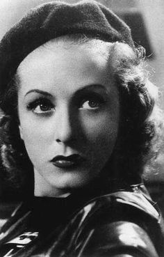 France. Danielle Darrieux, french film actress
