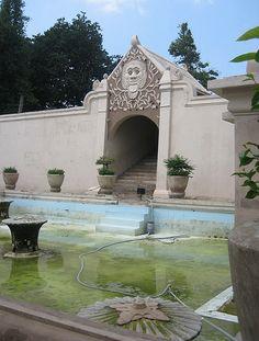 Bathing Pool, Water Castle (Taman Sari), Yogyakarta, Java, Indonesia