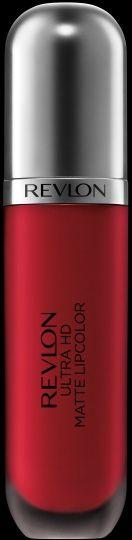 NEW SHADES Revlon Ultra HD Matte Lipcolor™. Lightweight, high definition velvety matte color. HD Romance.