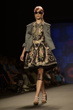 anna sui s/s 2013 show during mercedes-benz fashion week.  photo by lauren kristin (http://laurenkristin.com)
