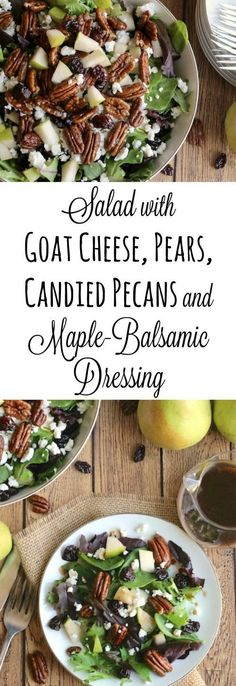 An incredibly delicious, yet really easy salad recipe! The perfect Thanksgiving salad or holiday party salad ... but quick enough for family…