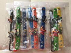Ninja PARTY FAVORS Charm Bracelets