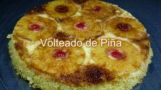 VOLTEADO DE PIÑA | Cocinar en casa es facilisimo.com