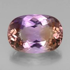 25.08ct Bi-Color Ametrine from Bolivia  Nearly all ametrine comes from the Anahi mine in southeastern Bolivia.   Amethyst and citrine are both quartz. It is rare for both colours of quartz to be found in the same crystal. Citrine and amethyst are colored by traces of iron, but the color of the zones visible within ametrine are due to differing oxidation states of iron within the crystal. The different oxidation states occur due to temperature differences across the crystal during its…