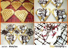 Vafle recept - TopRecepty.cz Sugar, Cookies, Desserts, Food, Crack Crackers, Tailgate Desserts, Deserts, Biscuits, Essen