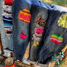 few of my favorite prints, if loving bright colors is wrong I dont want to be . Romantic Bedroom Colors, Romantic Master Bedroom, Denim Jacket Patches, Belle Boutique, Act Like A Lady, Star Spangled, Southwest Style, Hippie Gypsy, Cowgirl Style