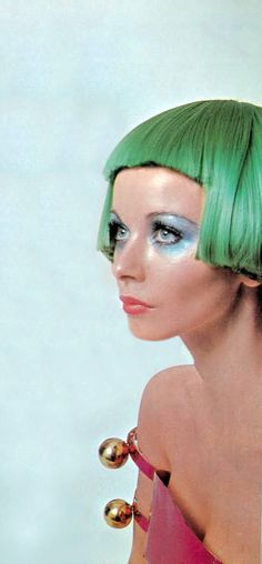 streaks in this color? ............................. .................................................................................................Courreges Vogue UK 1969