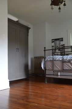 Restoration Hardware Bed And Armoire