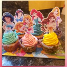 Princess Cupcakes - ideal für den Geburtstag (d)einer kleinen Prinzessin - gestaltbar ganuz nach deinen Wünschen ! Ein absoluter Hingucker und ultra Lecker - Kontaktiere uns und verschenke Freude #princess #prinzessin #disney #dessert #cupcakes #birthday #geburtstag #liebe #family #gilr #fest #fete #party #happy #happybirthday #freunde #spass #geschenk #present #princesses #disney+ #kind #kinder #kids #lecker #girls #babyygirl #family Happy Birthday, Cupcakes, Party, Baking, Princess, Videos, Desserts, Instagram, Girls