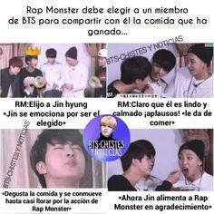 ) Namjin is life Namjin, Bts Memes, Funny Memes, Bts Jungkook, Taehyung, Taekook, Memes Chinos, I Love Bts, Foto Bts