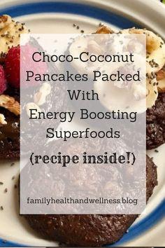Choco-Coconut Pancakes