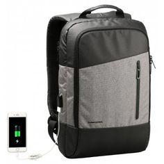 15.6 Polegada Anti Roubo Portátil USB Mochila Luminosa Escola de Viagem Ao Ar Livre Bolsa Homens Mulheres