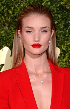 Rosie Huntington-Whiteley at 2013 British Fashion Awards - find out how to get the look here!