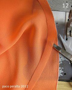 Es muy fácil de hacer y óptimo para dobladillos en el sesgo en faldas, vestidos…