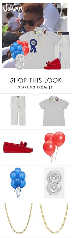 """""""2.25.18 My 8th Birthday Dinner at Ninja Cafe with friends and family ~Johan"""" by kidzgalore ❤ liked on Polyvore featuring Haus of JR, Gucci, Tod's, Pori, men's fashion, menswear and kidzgalore"""