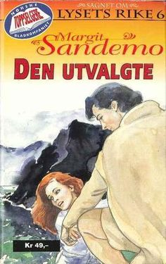"""""""Den utvalgte"""" av Margit Sandemo Fantasy Romance, Occult, Nostalgia, Reading, Books, Lily, Libros, Book, Reading Books"""