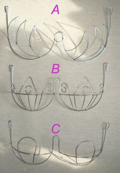 Wire Bras, Where To Get Them? For some reason I have been getting a record number of emails asking where to get wire bras! Ladies want this in place of their regular costume bra while others want to wear it on Monday.