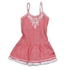 Red Gingham Dress $23.50