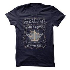 Paralegal Is Not A Career T Shirt, Hoodie, Sweatshirt