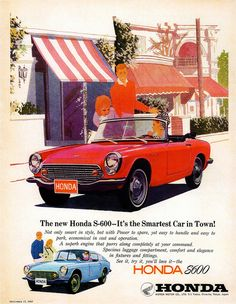 1966 Honda S-600 | Flickr - Photo Sharing!
