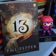 #CoxinhaBooks Dica de livro da semana: 13 da autora FML Pepper (da trilogia NÃO PARE!)