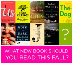 What New Book Should You Read This Fall?