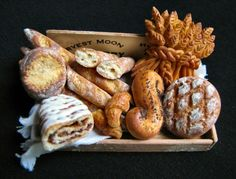 1:12th scale miniature Bread tray - IGMA Fellow submission by Betsy Niederer