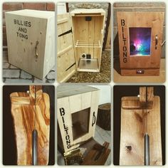 Custom made biltong / Jerky boxes and cutters. Biltong, South African Recipes, Dehydrator Recipes, Diy Box, Meat Recipes, The Cure, Spices, Homemade, Yui