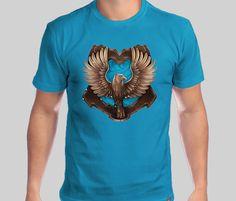 Camisa Hogwarts Casas (Ravenclaw) - Só na The Shirt Camiseteria  Camisa   Hogwarts · FilmesLivros De Harry PotterCamisetas ... c5b87aedf56
