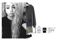 """""""Lazy school outfit goals"""" by alternativeelephant ❤ liked on Polyvore featuring Disney, Nintendo, Ray-Ban and Vans"""