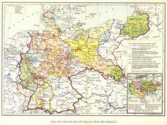 Das Deutsche Reich in den Grenzen von 1919