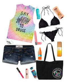"""""""SUMMER BUCKETLIST TAG"""" by g-oodgirlswearblack ❤ liked on Polyvore featuring Hollister Co., Bling Jewelry, Bourjois, Alterna, Charlotte Tilbury, Hawaiian Tropic, J.Crew, NARS Cosmetics and UNIF"""