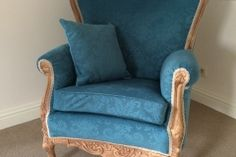 Fauteuil queen ann Shabby Chic Armchair, Accent Chairs, Queen, Furniture, Home Decor, Lounge Chairs, Homemade Home Decor, Decoration Home, Room Decor
