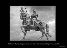 Maharana Pratap was a Hindu Rajput ruler of Mewar, a region in North-Western India in the present day state of Rajasthan. In popular Indian culture, Maharana Pratap is considered to exemplify the qualities like bravery and chivalry to which Rajputs aspire, especially in context of his opposition to the Mughal emperor Akbar.