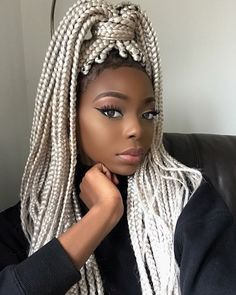 : 42 Catchy Cornrow Braids Hairstyles Ideas to Try in 2019 blackhairstylesbraids braided braidedhair braidedhairstyles braidedhairstylesart braidedhairstylesforblackwomen Braids are extremely popular today. It seems that braided hairstyles never go out of Blonde Box Braids, Black Girl Braids, Braids For Black Hair, Girls Braids, Pink Box Braids, Box Braids Hairstyles, African Hairstyles, Blonde Hairstyles, Hairstyles Games
