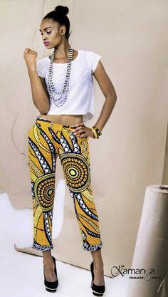 Kamanga wear a Zambian fashion brand