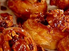 Easy Sticky Buns Recipe : Ina Garten : Try with less butter and cut the oven temp to 350